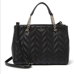 New Kate Spade Meena Briar Lane Quilted Purse